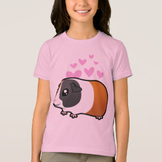 Guinea Pig Love (smooth hair) T-Shirt