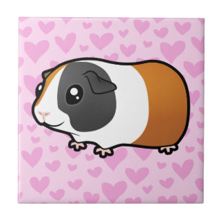 Guinea Pig Love (smooth hair) Tile