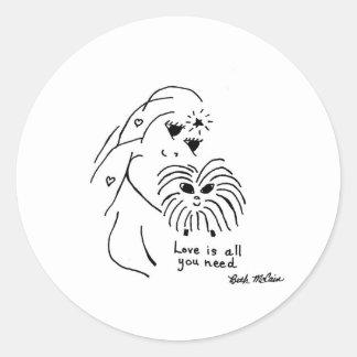 Guinea Pig Love Stickers