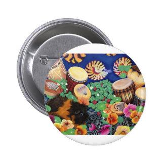 Guinea Pig Magic Carpet Drum Garden Delight Pins