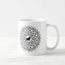 Guinea Pig Mandala Art Coffee Mug