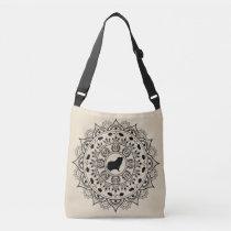 Guinea Pig Mandala Art Crossbody Bag