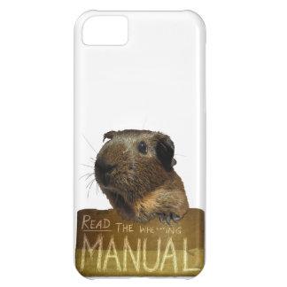 Guinea Pig Manual iPhone 5C Case