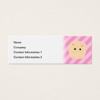 Guinea Pig. Mini Business Card