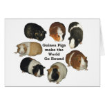 Guinea Pig Note Card