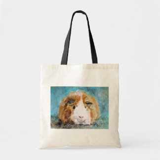 Guinea Pig Oil Painting by Kate Marr Bag