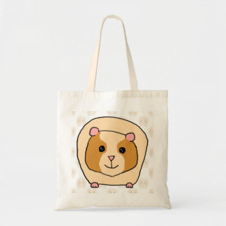 Guinea Pig on a pattern of paler Guinea Pigs. Tote Bag