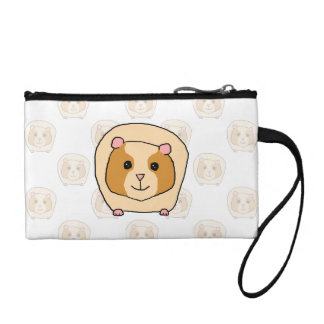 Guinea Pig on a pattern of paler Guinea Pigs. Coin Purse