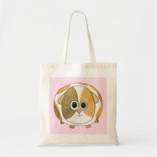 Guinea Pig on Pink. Bag