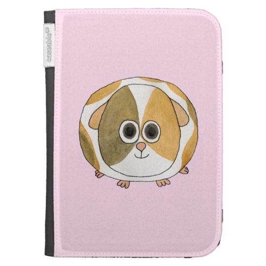 Guinea Pig on Pink. Kindle 3 Case