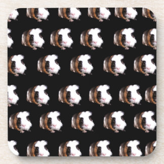 Guinea_Pig_Pattern,_ Beverage Coaster