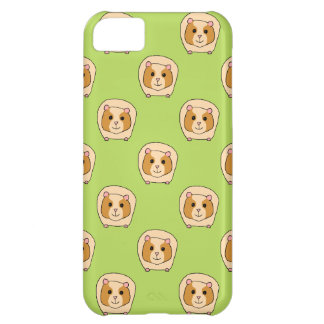 Guinea Pig Pattern, on Green. Cover For iPhone 5C