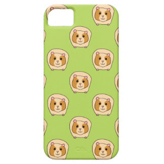 Guinea Pig Pattern, on Green. iPhone SE/5/5s Case