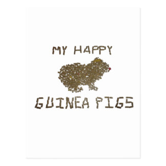 Guinea Pig Pellets Postcard