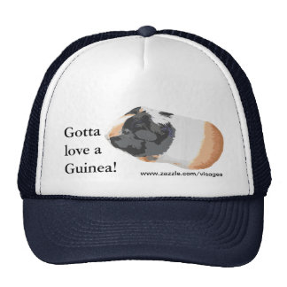 Guinea Pig Picture Mesh Hats