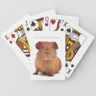 Guinea Pig Playing Cards