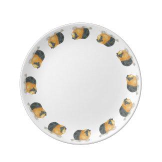 Guinea Pig Porcelain Plate