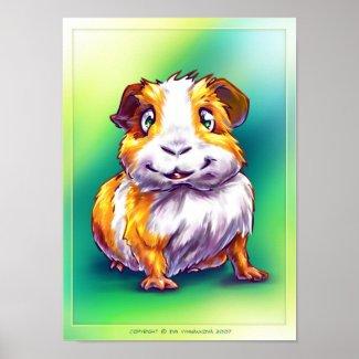 Guinea-pig print