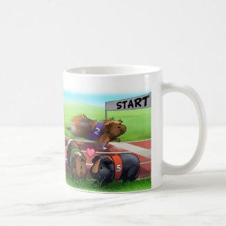 Guinea Pig Race Classic White Coffee Mug