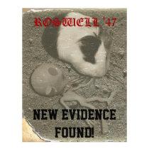 Guinea Pig Roswell Aliens Letterhead