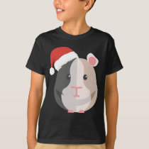 Guinea Pig Santa Hat Merry Pigmas Cavy Christmas G T-Shirt