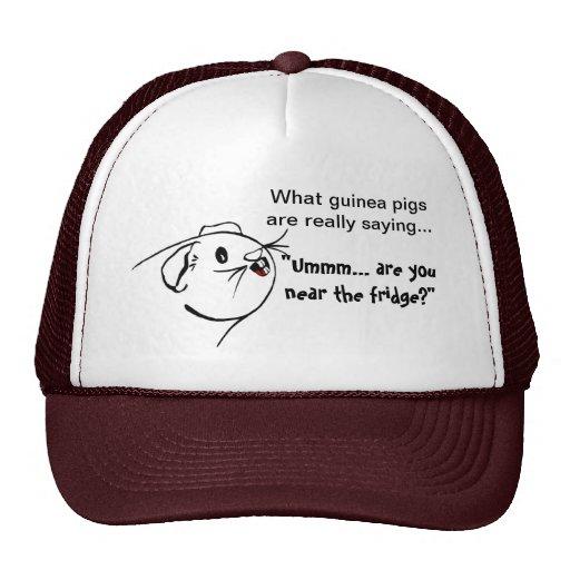 Guinea Pig Sayings Trucker Hat