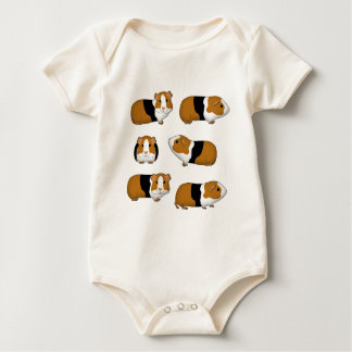 Guinea pig selection baby bodysuit