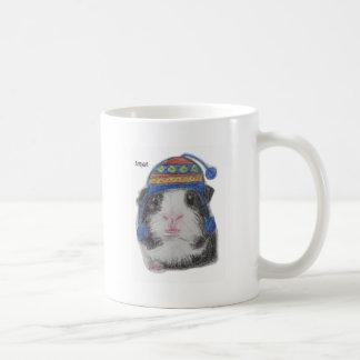 GUINEA PIG SHERPA HAT COFFEE MUGS