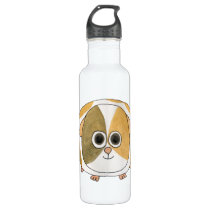 Guinea Pig. Stainless Steel Water Bottle