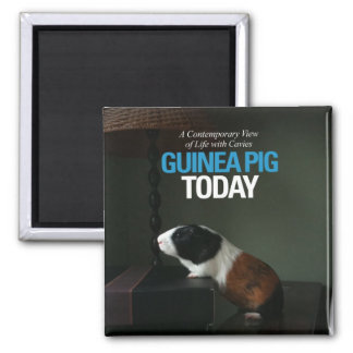 Guinea Pig Today Photo Magnet