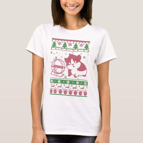 Guinea Pig Ugly Christmas T-Shirt After Christmas Sales 5140
