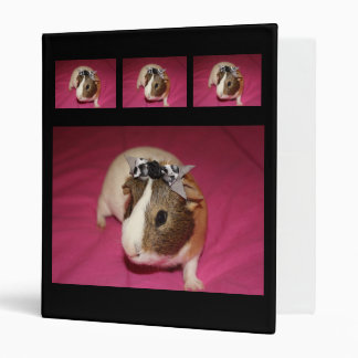 Guinea Pig With Bow 2 Binder