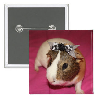 Guinea Pig With Bow 2 Button