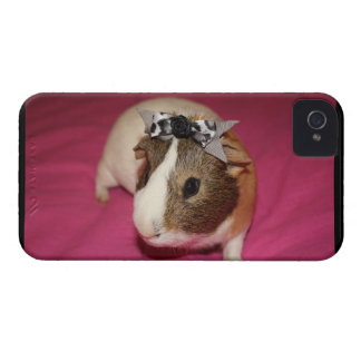 Guinea Pig With Bow 2 Case-Mate iPhone 4 Case