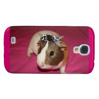 Guinea Pig With Bow 2 Galaxy S4 Cover