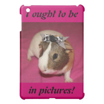 Guinea Pig With Bow 2 iPad Mini Case