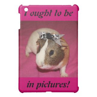 Guinea Pig With Bow 2 iPad Mini Covers