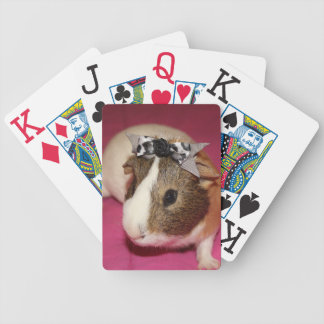 Guinea Pig With Bow 2 Playing Cards