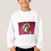 Guinea Pig With Bow 2 Sweatshirt