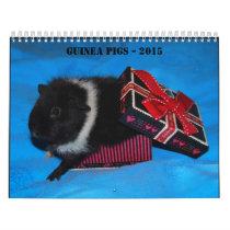 Guinea-Pigs - 2015 Calendar