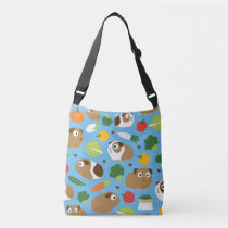 Guinea Pigs And Their Treats Crossbody Bag