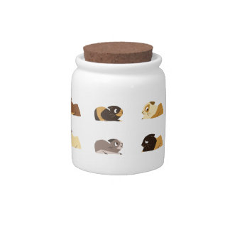 Guinea pigs candy dishes