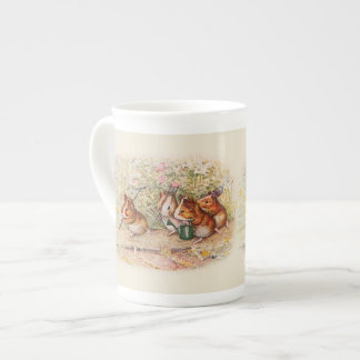 Guinea Pigs in the Garden Planting Seeds Tea Cup