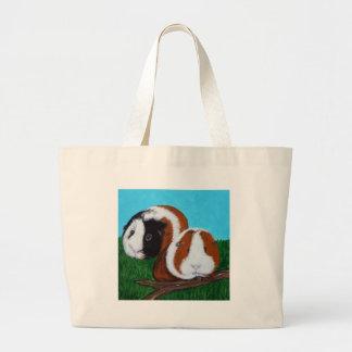 Guinea Pigs Large Tote Bag