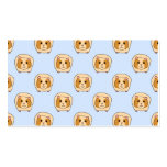 Guinea Pigs on Blue. Double-Sided Standard Business Cards (Pack Of 100)