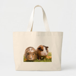 guinea pigs one has lawn tote bags