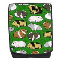 Guinea pigs pattern backpack