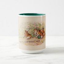 Guinea Pigs Planting in the Garden Mug
