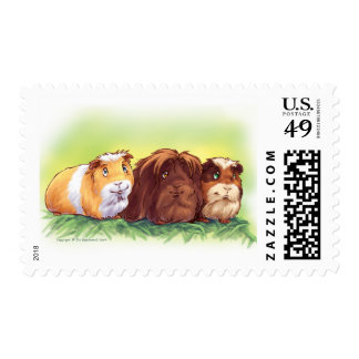 Guinea Pigs Stamp