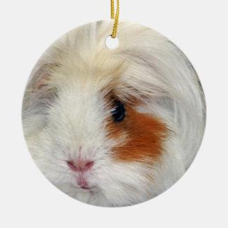 Guinea Pig's Wish Ceramic Ornament